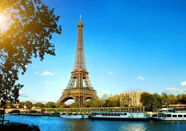 Paisajes de Suiza, París y Amsterdam