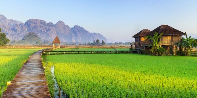 Laos, Vietnam con Halong Bay y Camboya
